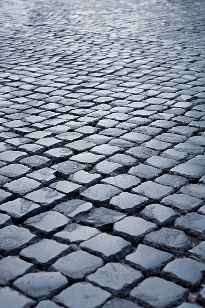 Roman Cobblestones stock photo