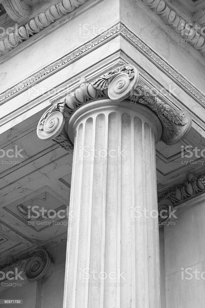 Roman Column royalty-free stock photo