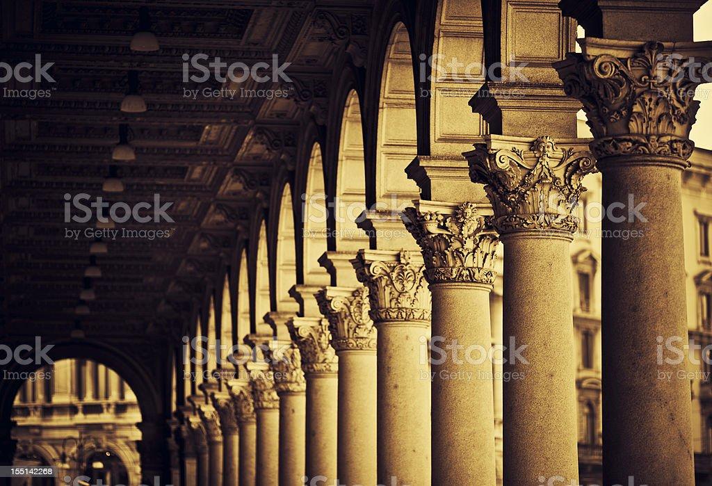Des colonnes romaines - Photo