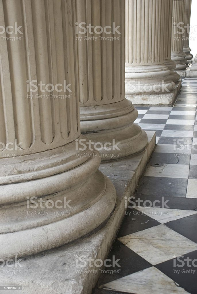 Des colonnes romaines photo libre de droits