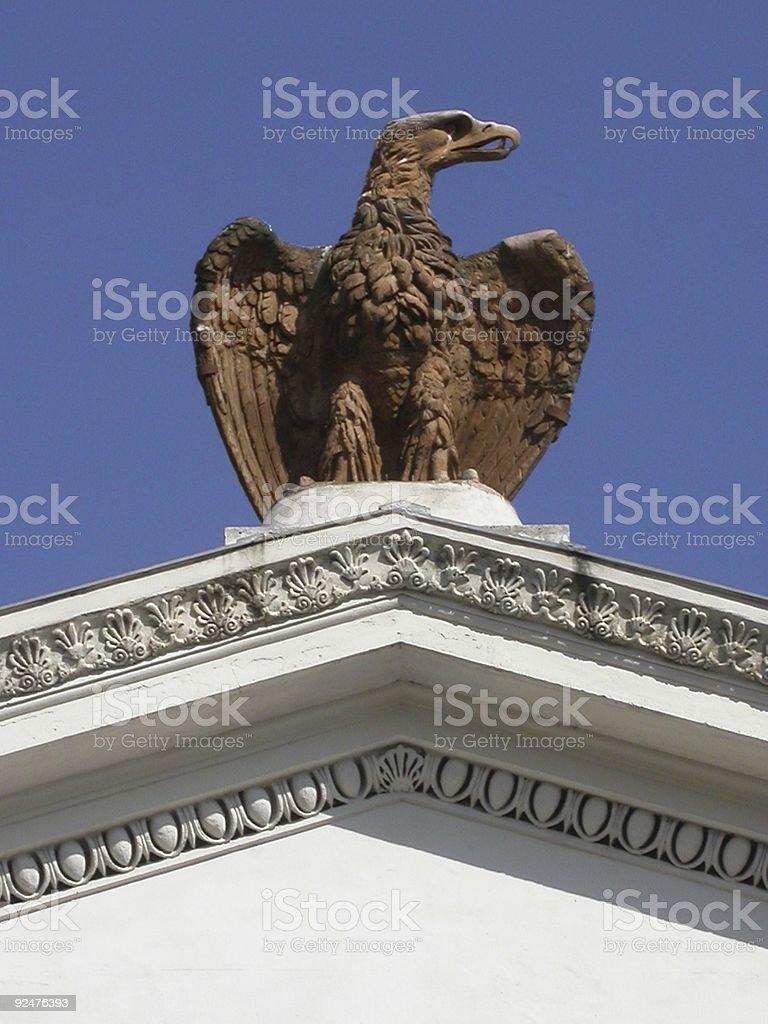 Roman Eagle royalty-free stock photo