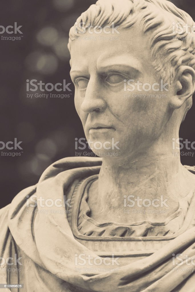 Roman emperor Caligula stock photo