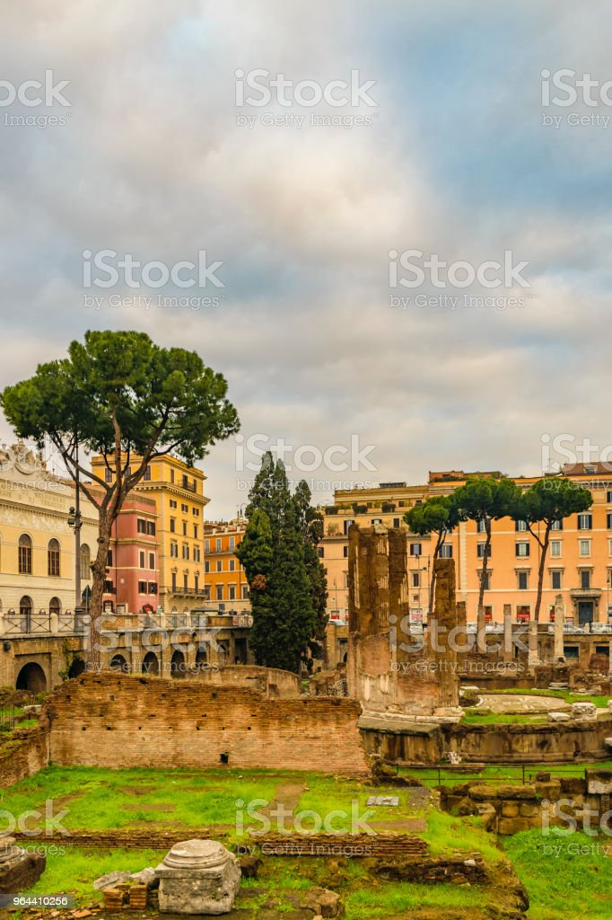 Roman Forum Day Scene - Royalty-free Ancient Stock Photo