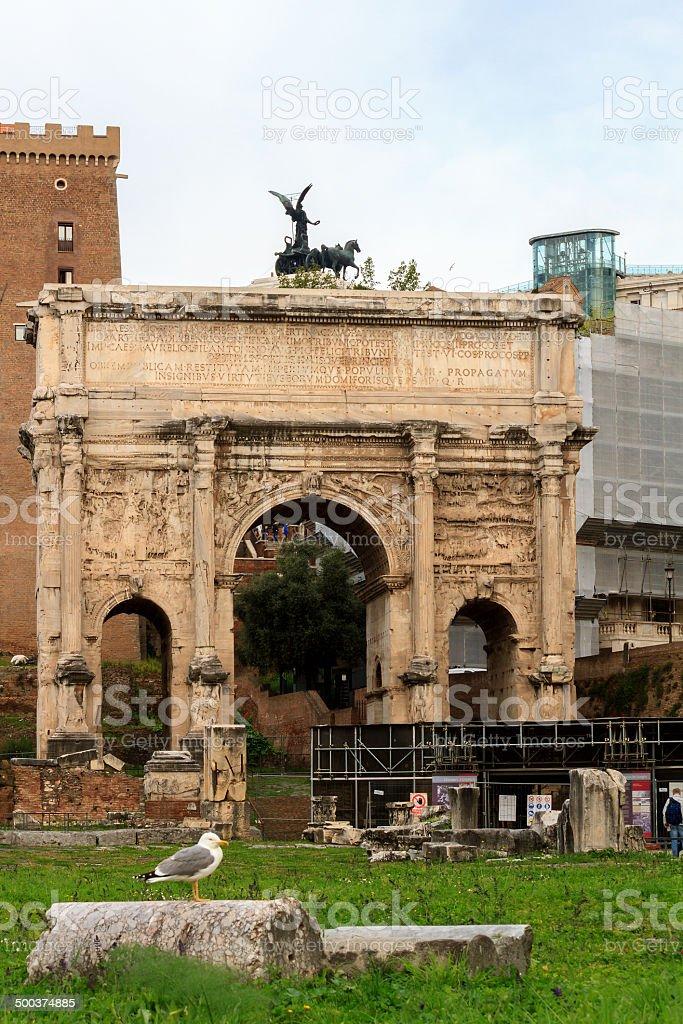 Roman Forum Lizenzfreies stock-foto