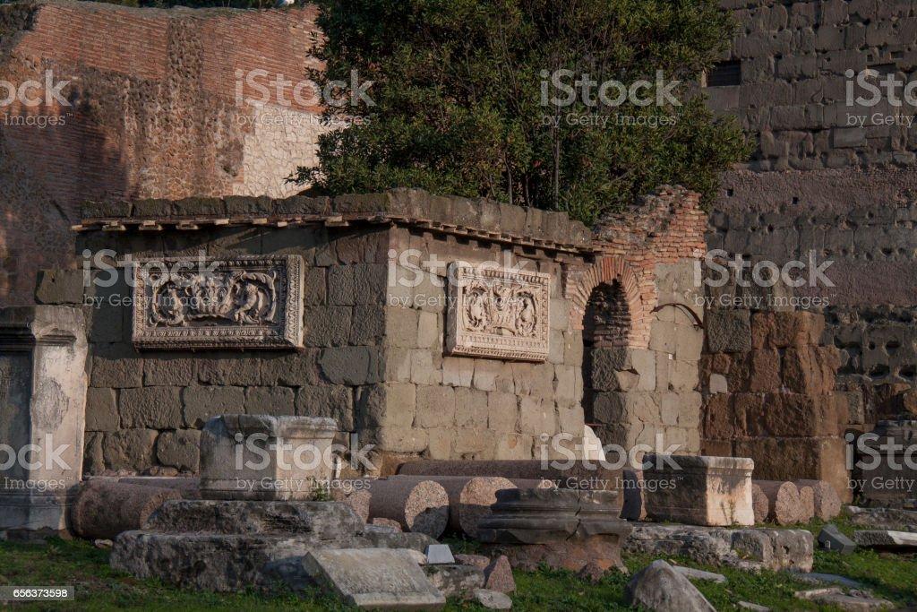 Roman Forum стоковое фото