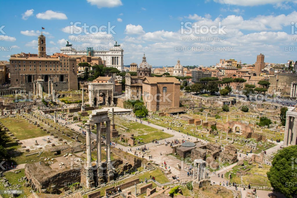 Roman Forum photo libre de droits