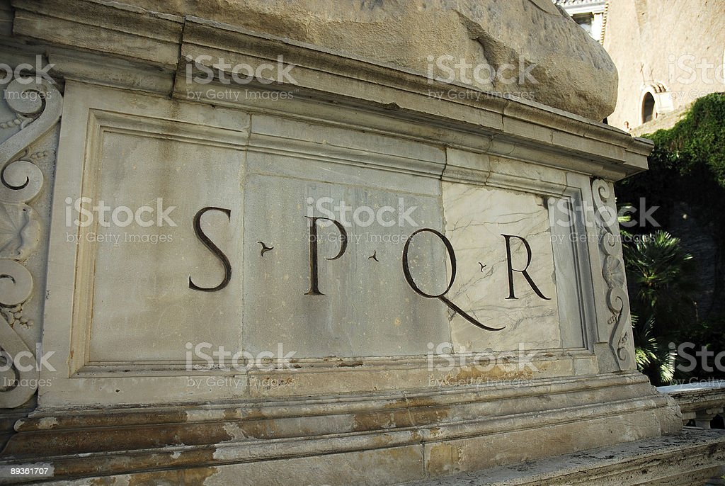 Foro Romano foto stock royalty-free