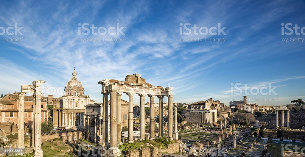 Roman Forum, Rome Italy stock photo