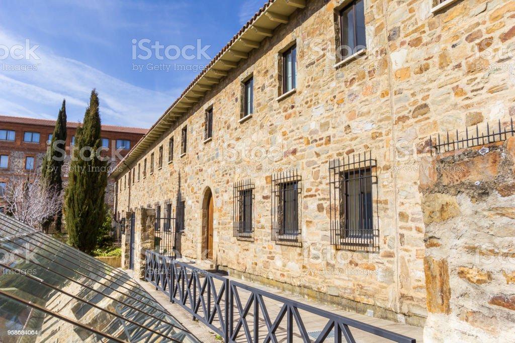 Casa romana en el centro histórico de Astorga, España - foto de stock
