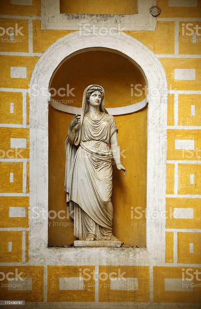 roman lady royalty-free stock photo