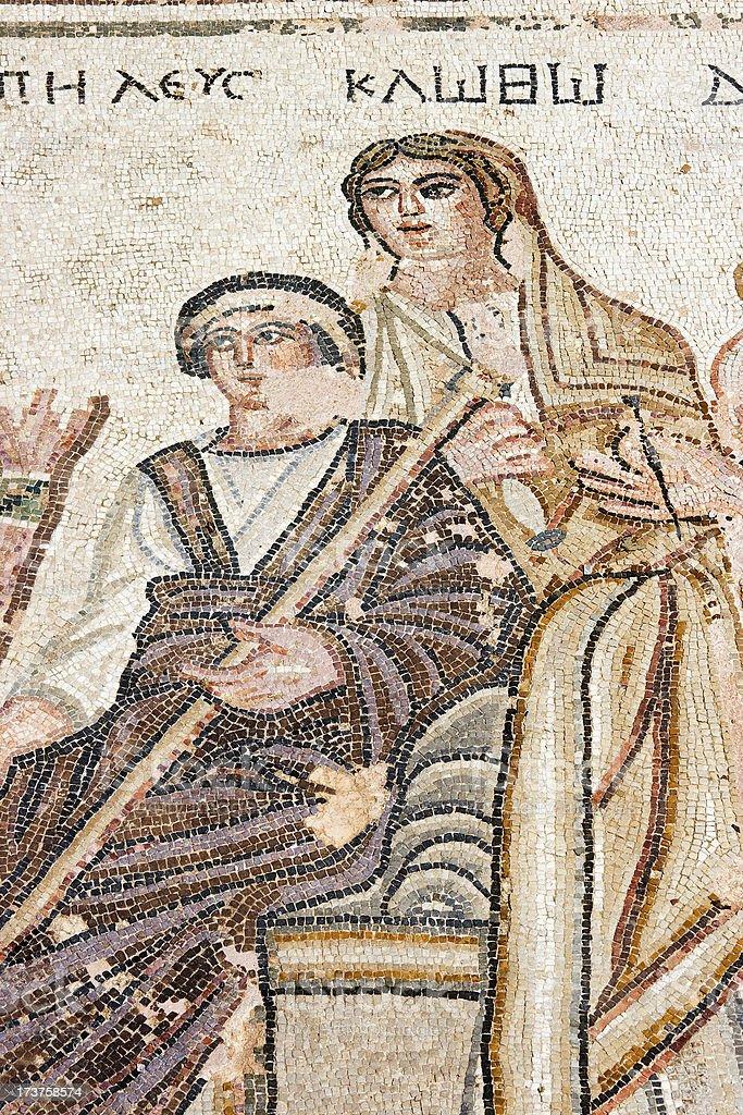 Roman Mosaic royalty-free stock photo