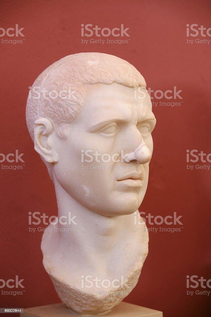 roman nobleman 4 royalty-free stock photo