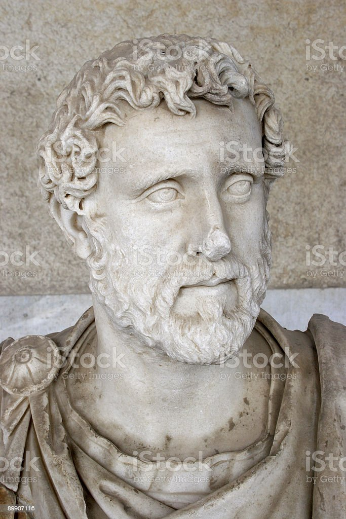 Roman Nobleman royalty-free stock photo