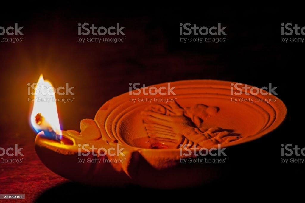 Roman Oil Lamp 2 stock photo