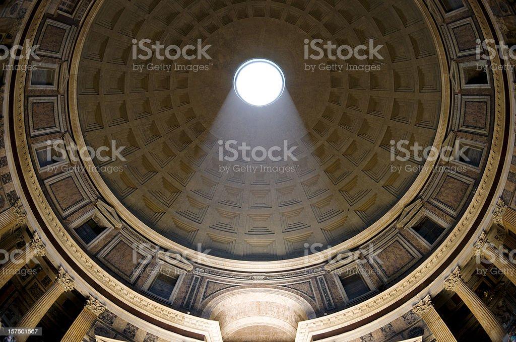 Roman Pantheon stock photo