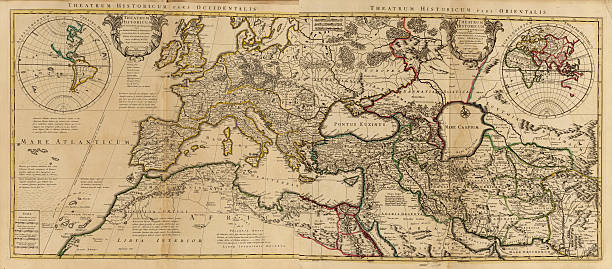 pax romana - mediterranean culture stock photos and pictures