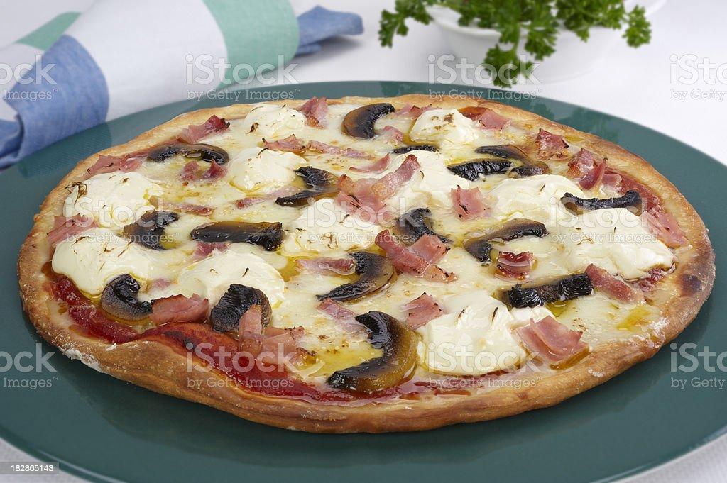 Pizza Romana royalty-free stock photo