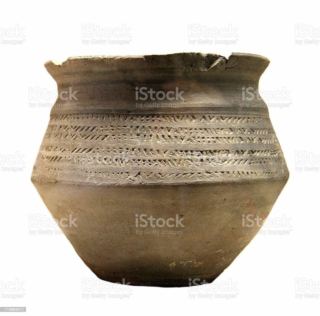 Roman Pot stock photo