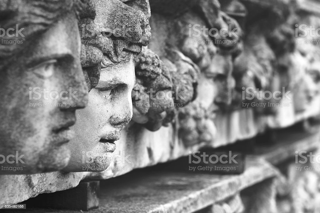 Roman Relief  Sculpture stock photo