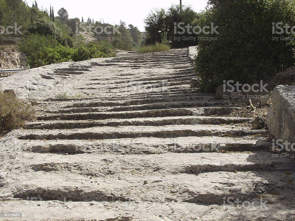 Roman Road royalty-free stock photo