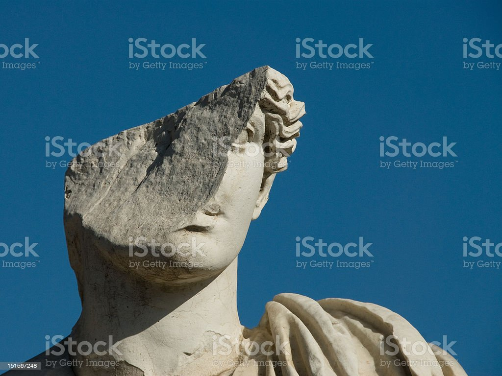 Roman Ruins - Ostia Antica stock photo