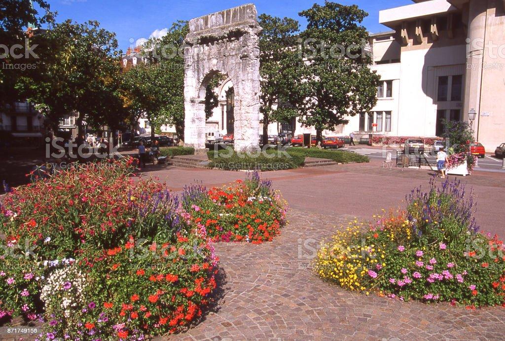 Ruines romaines et les jardins d'Aix-les-Bains Haute Savoie France Europe - Photo