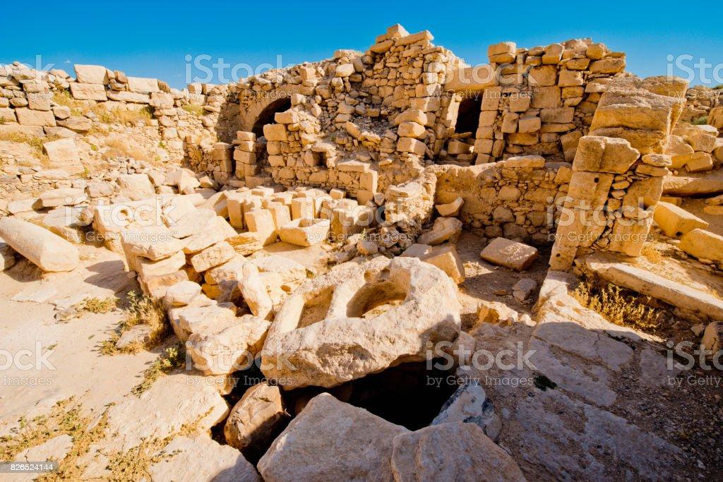 Roman Ruins In Umm Arrasasan Archeological Site In Jordan Unesco ... 5a8be0d05