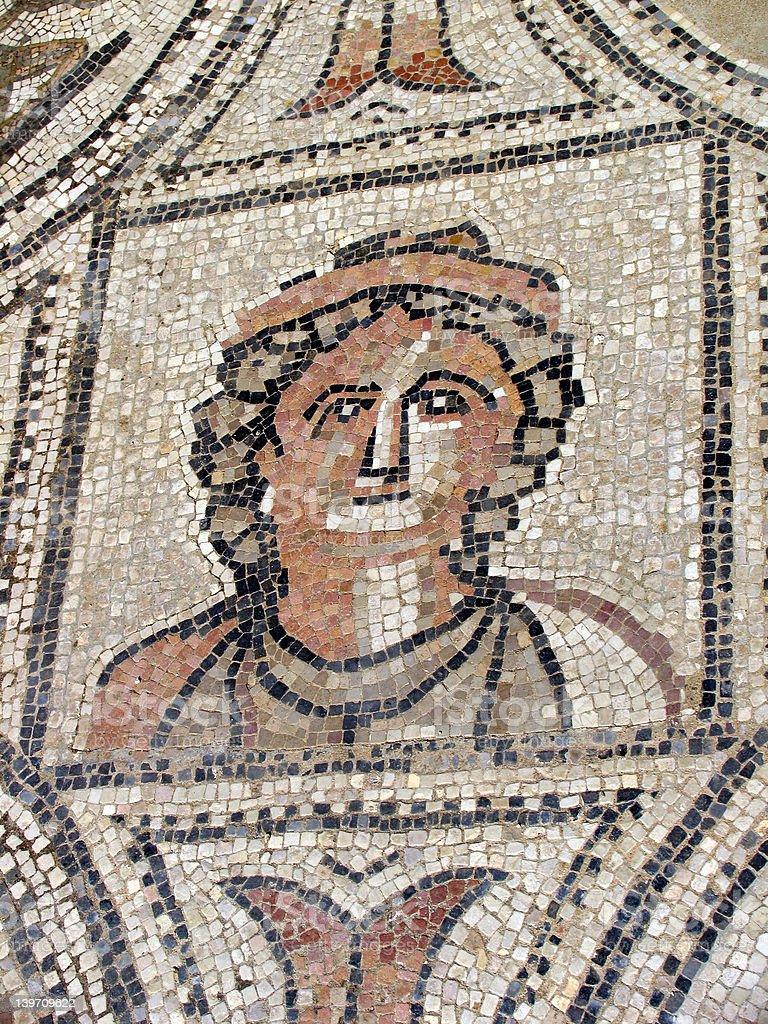 Roman ruins royalty-free stock photo