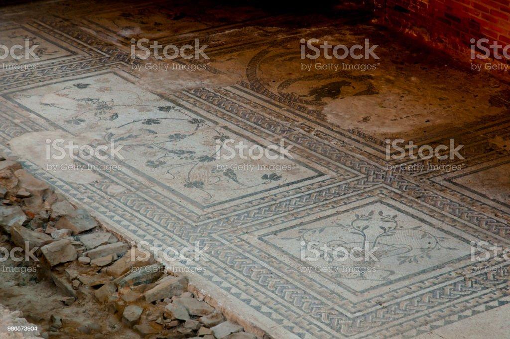 Ruinas romanas  - foto de stock