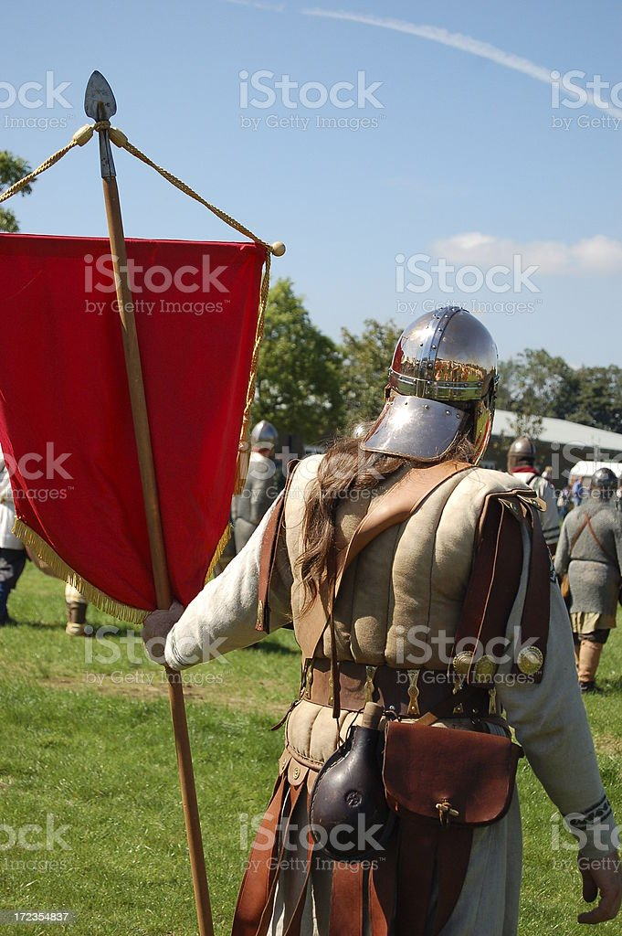 Roman soldier. royalty-free stock photo