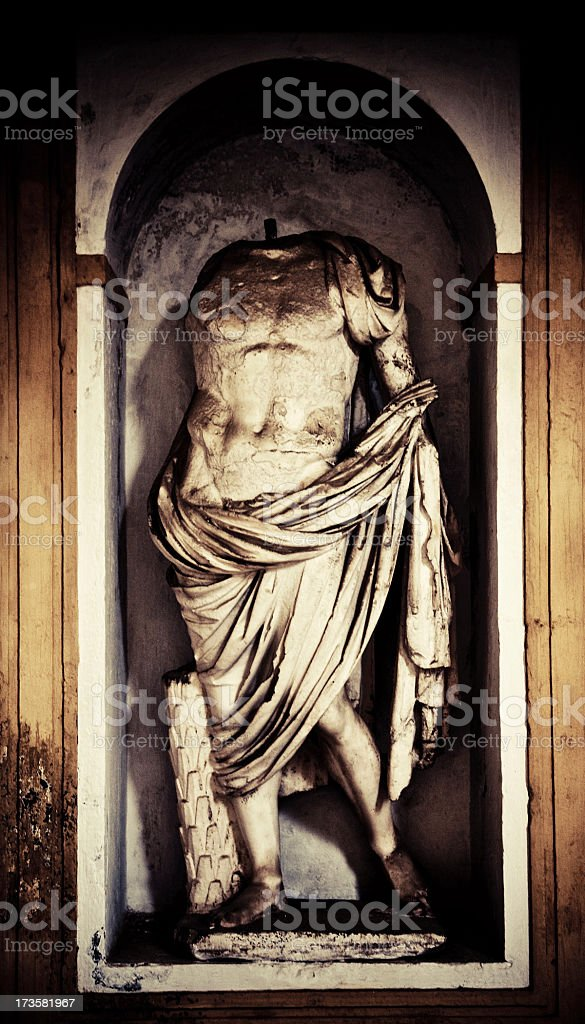 roman statue royalty-free stock photo