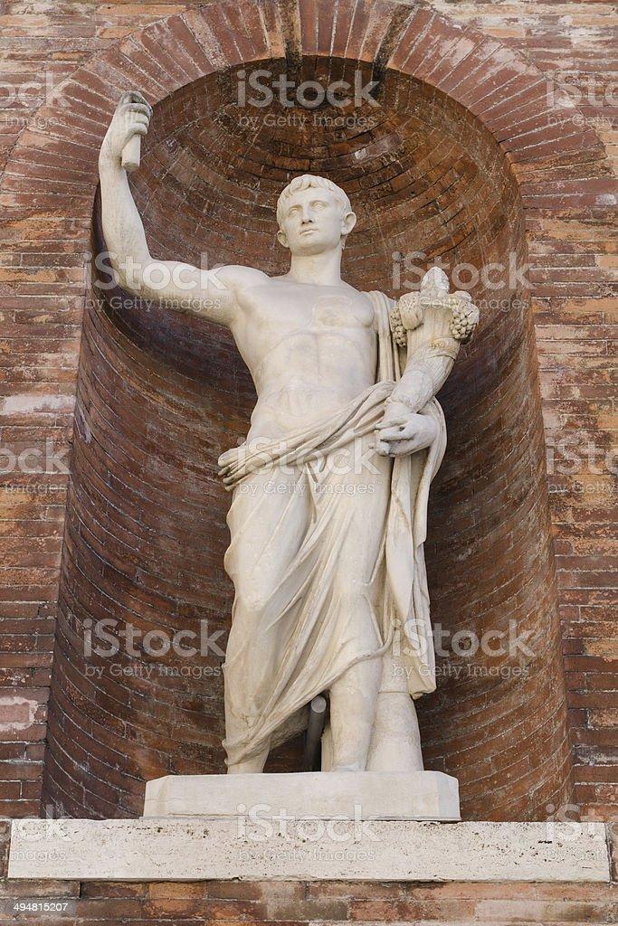 roman statue, Rome, Italy stock photo