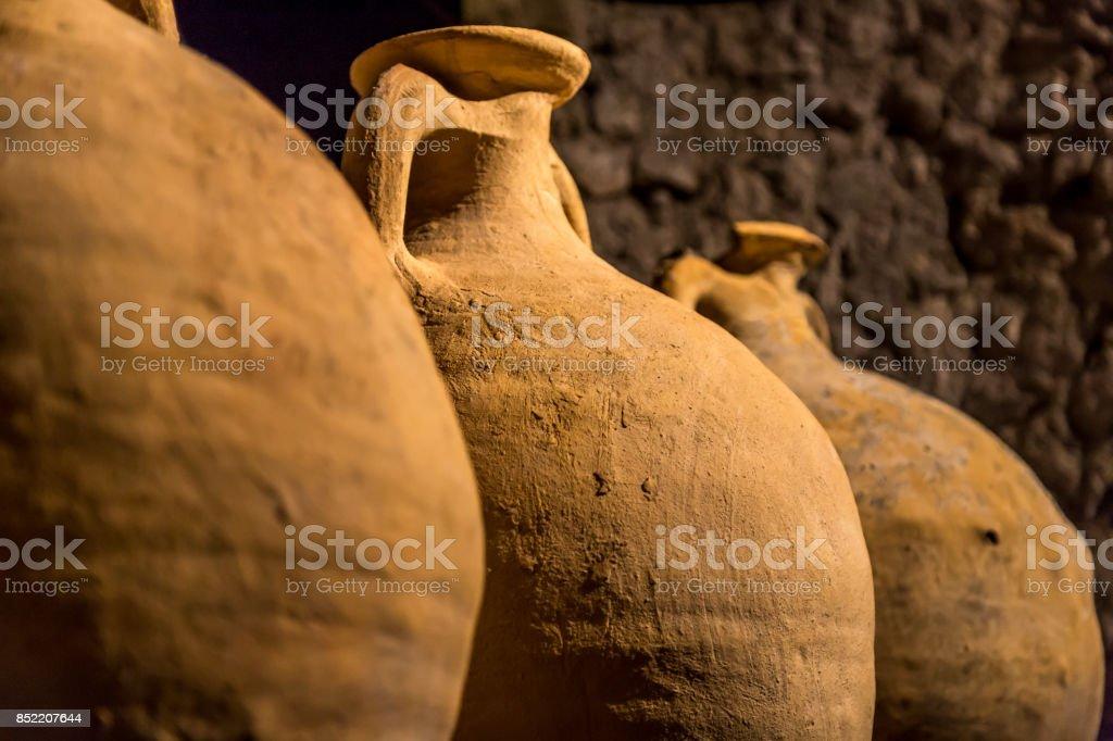 Réservoirs de stockage de romain - Amphora - Photo