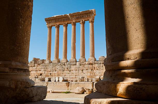 Römische Ruinen in Baalbek – Foto