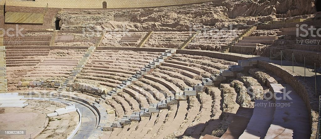 Roman Theatre royalty-free stock photo