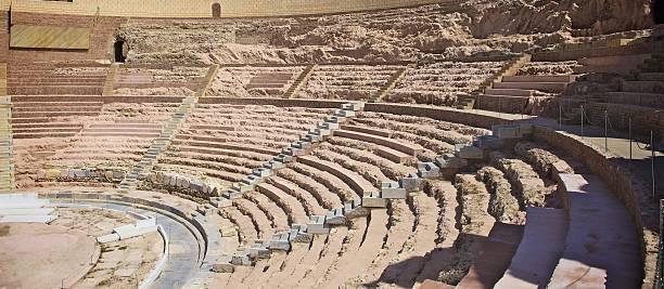 roman theatre - cartagena museum stock photos and pictures