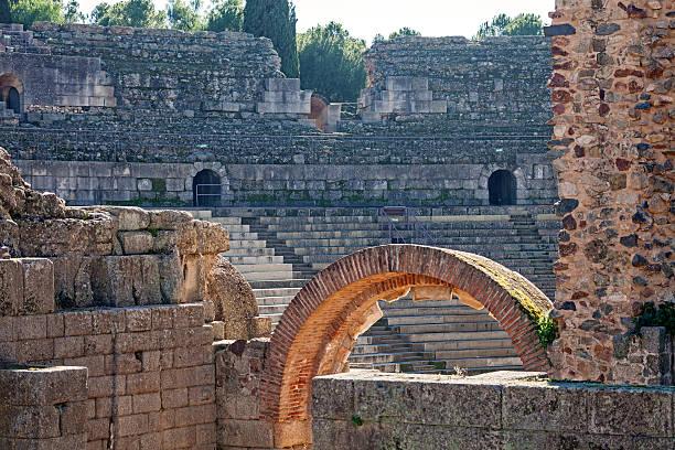Teatro romano - foto de stock