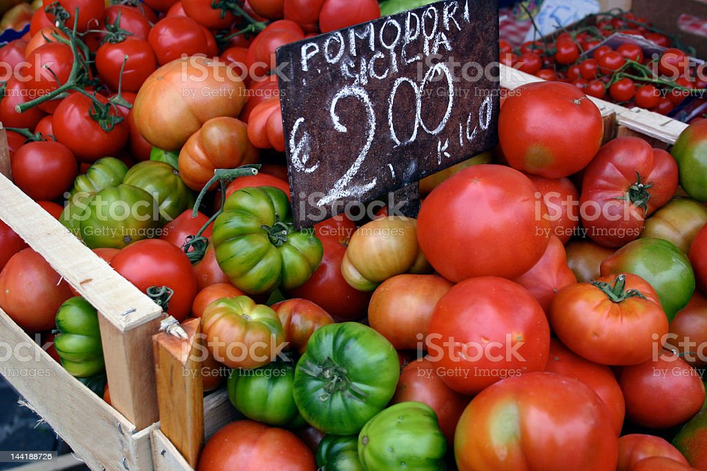Roman Tomates royalty-free stock photo