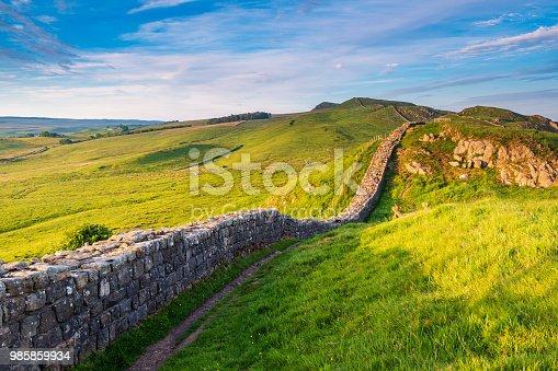 istock Roman Wall near Caw Gap 985859934
