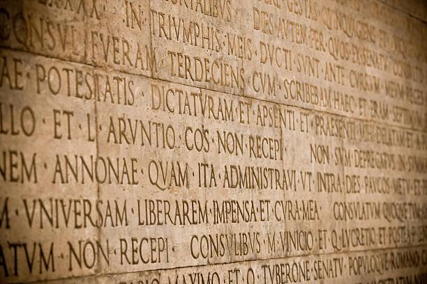 Römischer wall – Foto