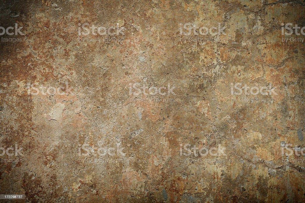 Roman wall texture, Rome Italy royalty-free stock photo