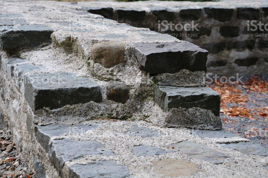 Römische Stadtmauer in Kempten, Deutschland – Foto