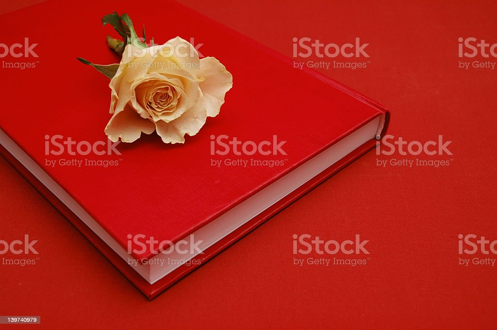 Romance bookmark royalty-free stock photo