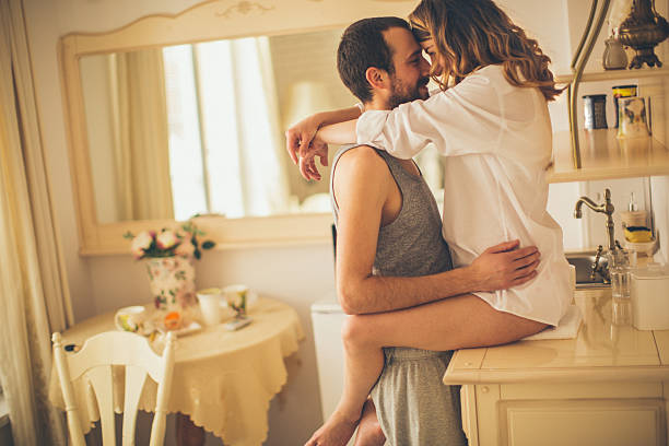 Romance para café da manhã - foto de acervo