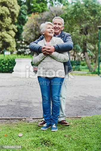 istock Romance has no age barriers 1035562154