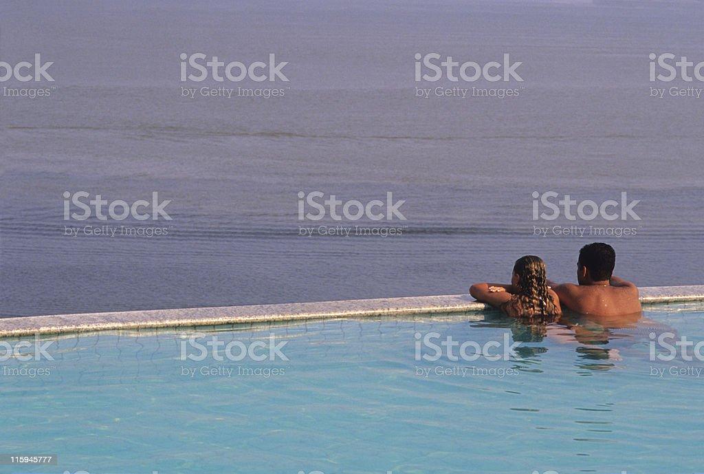 Romance in the Amazon royalty-free stock photo