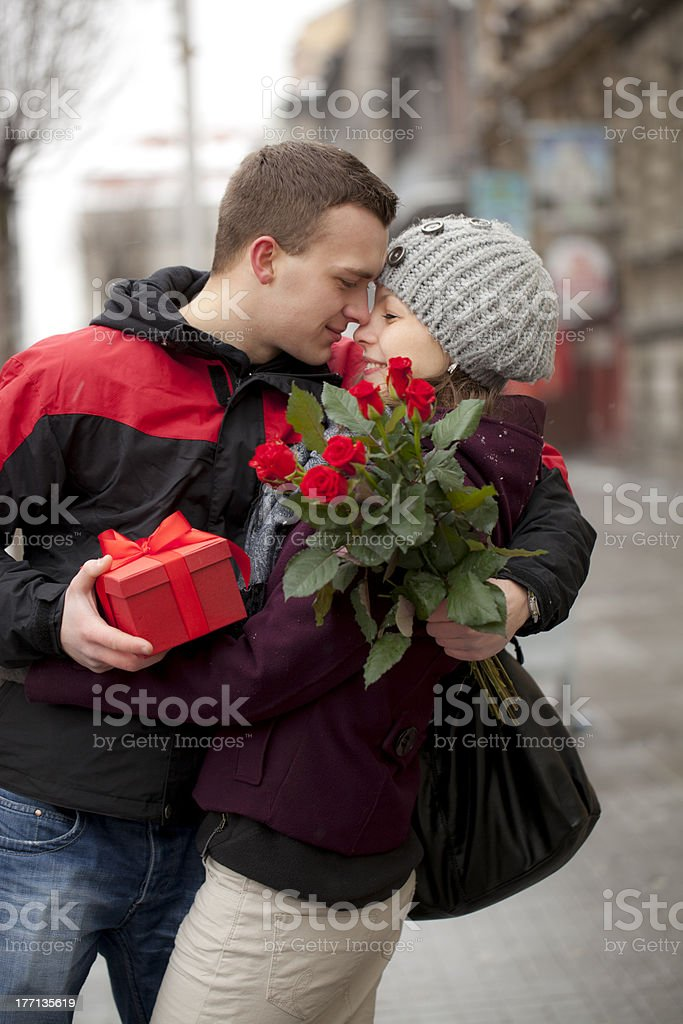 Romantik in der Stadt – Foto