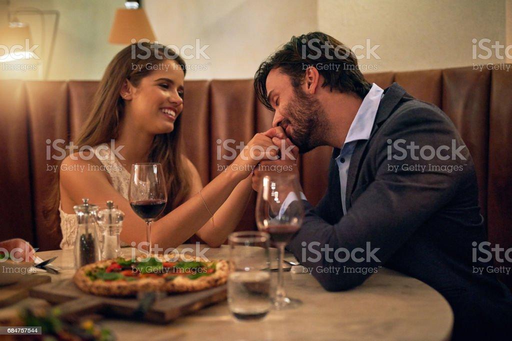 Romance level: Expert stock photo