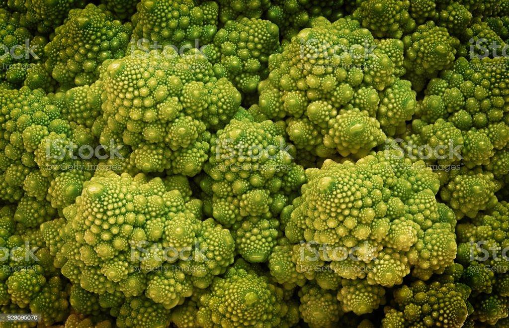 Grüne Romanesco Blumenkohl – Foto