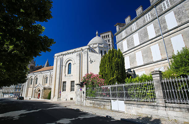 Romanesque Cathedral of Angouleme, France. - Photo